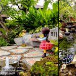 Mẫu thi công sân vườn đẹp thiên nhiên cho nhà biệt thự