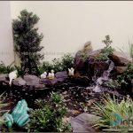 Phối cảnh mẫu thi công sân vườn biệt thự đẹp hồ koi Chị Lan