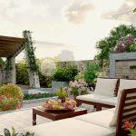 Thi công thiết kế sân vườn nhỏ đẹp Anh Vũ tại HCM