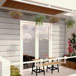Thiết kế tiểu cảnh sân vườn ban công nhà phố đẹp Anh Thương- Quận 7